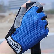 スポーツグローブ 男女兼用 サイクルグローブ 春 夏 サイクルグローブ 耐久性 高通気性 保護 モイスチャーコントロール 耐久 フィンガーレス 布 サイクルグローブ