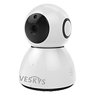 Veskys® 2.0mp 1080p hd wifi beveiligingsbewaking ip camera wolkopslag twee-way audio remote monitor