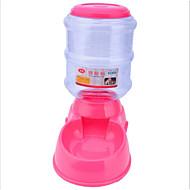 Katze Hund Schalen & Wasser Flaschen Haustiere Schüsseln & Füttern Orange Grün Blau Rosa