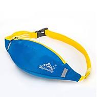 Mulher Bolsa de Cintura Fibra Sintética Verão Azul Escuro Cinzento Roxo Amarelo Cinzento Verde