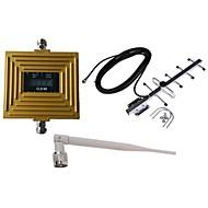 GSM 900mhz mobiltelefon signal booster forstærker antenne kit repeater