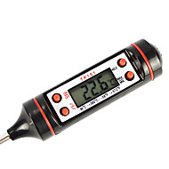 digitaalinen näyttö lämpömittari testaaja ruoanlaittoon (musta väri)