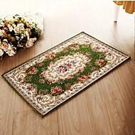 Estilo europeu, casa, tapete têxtil, sala de estar, mesa de chá, quarto, cama, tapete, tapete, piso, tapete
