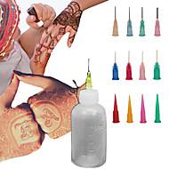 henna applikator midlertidig tatovering kit krop blæk naturlægemidler mehndi