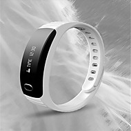 Heren Dames Modieus horloge Handmatig opwindmechanisme Rubber Band Zwart Wit