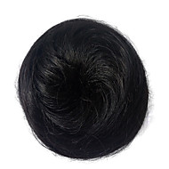 Peruca mulheres sintéticas cabelo sintético chigon black bun chigons curly hairstyle