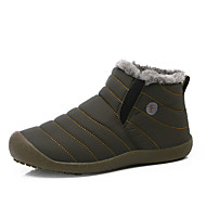 Для мужчин Ботинки Зимние сапоги Ткань Зима Для прогулок На плоской подошве Серый Синий На плоской подошве