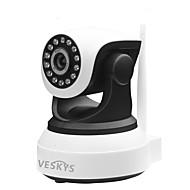 veskys® 720p hd wi-fi camera IP w / 1.0mp smart phone de monitorizare de la distanță suport wireless 128gb tf card