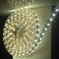 6m / 1pcs 220v 5050 leidde flexibele tape rope strip licht xmas buiten waterdicht tuin outdoor lightingeu stekker eu