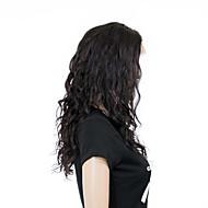 жен. Парики из натуральных волос на кружевной основе Бразильские волосы Натуральные волосы Реми Полностью ленточные Бесклеевая сплошная