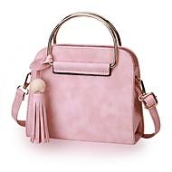 Damen Taschen Ganzjährig PU Umhängetasche mit für Normal Schwarz Rosa Grau