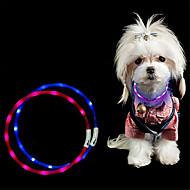 Luz de Decoração Colar LED LED Night Light-3W-USB Cortável Recarregável Impermeável Decorativa - Cortável Recarregável Impermeável