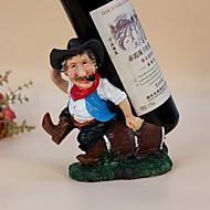 Viinitelineet Puu,17*12*22CM viini Lisätarvikkeet