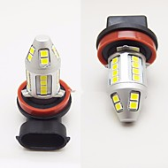2ks automobilový design super světlý 120w 6000lm led mlhové světlo h1 h3 h4 h7 h8 h9 h10 h11 9005 9006 can-bus chyba bez mlhového světla