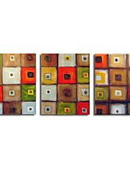 3-pc Handmade Abstract Painting Stretched Ready to Hang (SZH238)