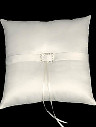 Lovely Satin Wedding Ring Bearer Pillow
