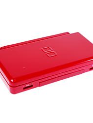 volledige vervanging behuizing geval voor NDS Lite met knoppen en schroeven (rood)