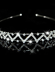 Gorgeous Clear Crystals Wedding Bridal Tiara/ Headpiece/ Headband