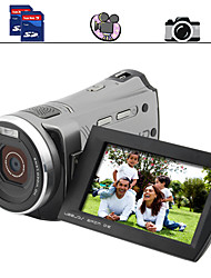 Familie HD-Camcorder mit 3-Zoll-Bildschirm Dual SD Card Slots (dc021)