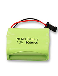 Ni-Mh 7.2V 800mAh Rechargeable Battery(NI-MH(7.2V800))