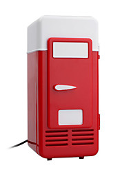 USB Super Mini Fridge - Refrigerator - Beverage Drinks Cooler - Keep Drinks Cold At Your Desk(SMQ5639)