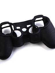schützende Silikonhülle für PS3 Controller (schwarz)