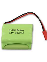 Ni-MH 8.4v 800mah bateria recarregável (Ni-MH (8.4v800))
