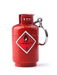 gas pequeño tanque de forma más ligera, rojo
