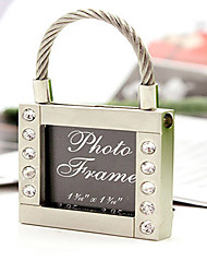 Classic Theme Chrome Photo Frames Silver