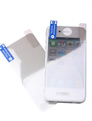 Screen Guard Protector + Cleaning Cloth for iPhone 4 (2 Pack)