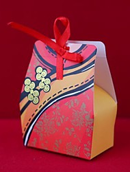 Chinese Box favor qipao (conjunto de 12)