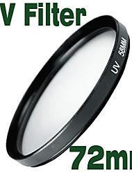 emolux uv 72 milímetros filtro protetor