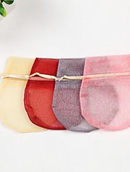 schimmernden runden Organza Beutel Gunsten - von 24 gesetzt (weitere Farben)