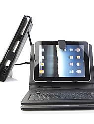 Клавиатура с откидной кожаный чехол для 10-дюймовый Tablet PC