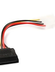 4p ide naar 15p serial ata sata power adapter kabel 0.15m
