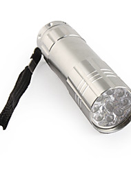 FX-709B 1-Mode 9-LED Flashlight (3xAAA/3x10440, Grey)