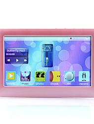 4.3 Inch MP4 Player (4GB,  Pink/Black)