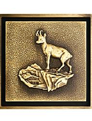 античный сток в полу латуни (1018-ЛК-6038)