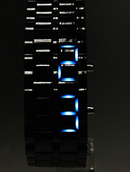 Мужской Наручные часы LED Календарь Цифровой Plastic Группа Черный