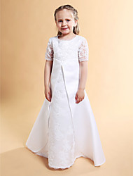 NARA - Robe de Communion Satin