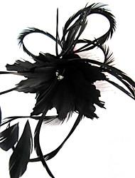 Special Fascinator With Feather Weddding/Partying/Honeymoon Headdress Flower