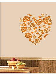 Heart Decorative Wall Sticker(0565-1105097)