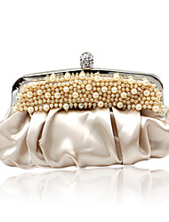 Gorgeous Satin With Beadings Evening Handbags/ Clutches More Colors Available