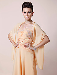 Women's Wrap Shawls Chiffon Wedding / Party/Evening