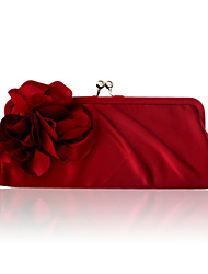 Women Satin Event/Party Evening Bag Beige / Purple / Blue / Brown / Red / Black