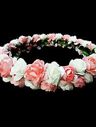 Women's/Flower Girl's Paper Headpiece - Wedding/Special Occasion/Outdoor Flowers