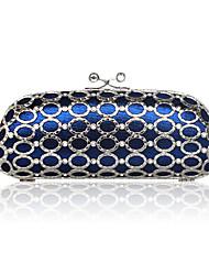 shell de seda con bolsa de fiesta rhinestone más colores disponibles