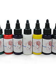 Top Quality Tattoo Ink Set 7x 30ml