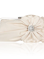 Silk With Rhinestone Evening Clutches More Colors Available
