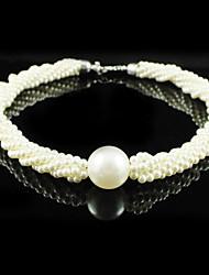 Gorgeous Imitation Pearl Wedding Bridal Necklace